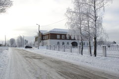 A cidade de Staritsa, Tver, Rússia Fotografia de Stock Royalty Free