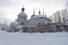A cidade de Staritsa, Tver, Rússia Fotos de Stock