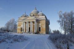 A cidade de Staritsa, Tver, Rússia Imagem de Stock Royalty Free
