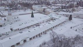 A cidade de Suzdal Fileiras de troca Kazan e a ressurreição da igreja video estoque
