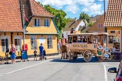 Cidade de Svaneke Imagens de Stock