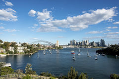 Cidade de Sydney fotos de stock royalty free
