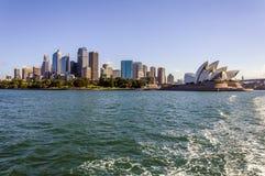 Cidade de Sydney na manhã do verão Foto de Stock Royalty Free