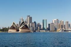 Cidade de Sydney na manhã do verão Imagens de Stock
