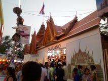 A cidade de Tailândia é um lugar muito bonito imagens de stock