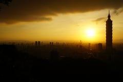 Cidade de Taipei Imagem de Stock Royalty Free