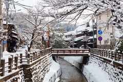 Cidade de Takayama Imagem de Stock Royalty Free