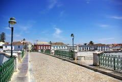 Cidade de Tavira, Portugal. Fotografia de Stock Royalty Free
