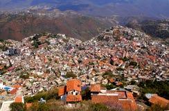 Cidade de Taxco imagens de stock