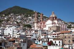 Cidade de Taxco, México Fotografia de Stock Royalty Free