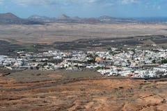 Cidade de Teguise, Lanzarote, Ilhas Canárias fotos de stock royalty free