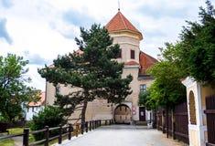 Cidade de Telc, República Checa Fotos de Stock