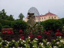 Cidade de Teplice em Checo imagens de stock royalty free