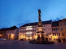 Cidade de Teplice em Checo fotos de stock royalty free