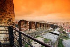 Cidade de Tessalónica Foto de Stock Royalty Free