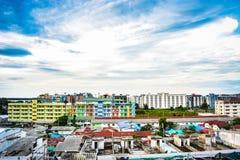 Cidade de Thanyaburi imagens de stock royalty free