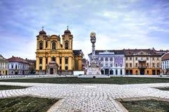 Cidade de Timisoara, Romênia Imagens de Stock Royalty Free