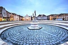 Cidade de Timisoara, Romênia Fotografia de Stock