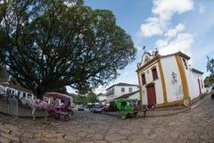 Cidade de Tiradentes - Minas Gerais Royaltyfri Foto