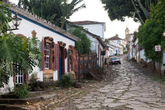 Cidade De Tiradentes - minas gerais Obrazy Stock