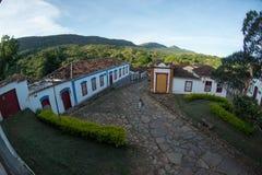 Cidade de Tiradentes - Minas Gerais Royalty Free Stock Photo