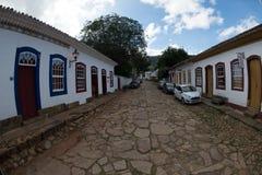 Cidade de Tiradentes - Minas Gerais Stock Images