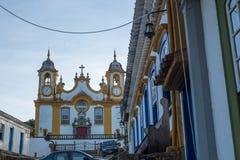 Cidade de Tiradentes - Minas Gerais Royalty Free Stock Image