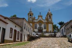 Cidade de Tiradentes - Minas Gerais Stock Photography