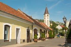 Cidade de Tokaj fotografia de stock royalty free