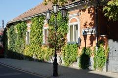 Cidade de Tokaj, Hungria imagens de stock royalty free