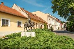 Cidade de Tokaj na região famosa fotos de stock