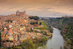 A cidade de Toledo Imagem de Stock Royalty Free