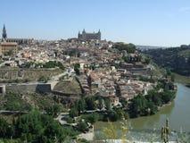 cidade de Toledo fotografia de stock