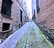 Cidade de Toledo Spain fotografia de stock