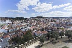 Cidade de Torres Vedras foto de stock royalty free