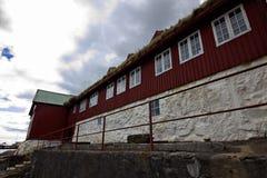 A cidade de Torshavn em Ilhas Faroé Imagens de Stock Royalty Free