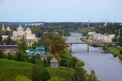 Cidade de Torzhok Foto de Stock