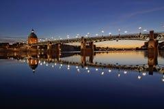 Cidade de Toulouse, França Foto de Stock Royalty Free