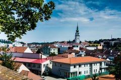 Cidade de Trebic, República Checa, UE Imagem de Stock Royalty Free