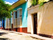 Cidade de Trinidad Cuba Imagens de Stock