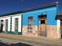 Cidade de Trinidad em Cuba, casa velha fotografia de stock royalty free