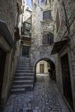 Cidade de Trogir, Croatia Fotos de Stock