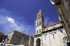 Cidade de Trogir, Croatia Imagem de Stock