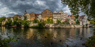 Cidade de Tubinga (Tuebingen) - Alemanha Imagens de Stock Royalty Free