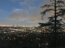 A cidade de um sonho Imagem de Stock Royalty Free