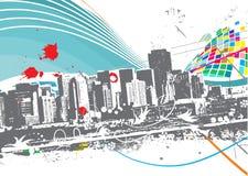 Cidade de Urabn Imagem de Stock