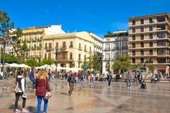 Cidade de Valença, spain Fotos de Stock