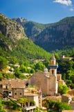 Cidade de Valldemossa, Mallorca, Espanha Imagens de Stock Royalty Free