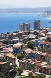 Cidade de Valparaiso, o Chile Fotos de Stock
