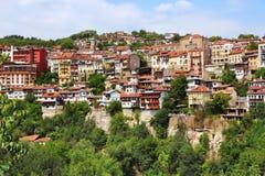 Cidade de Veliko Tarnovo imagens de stock